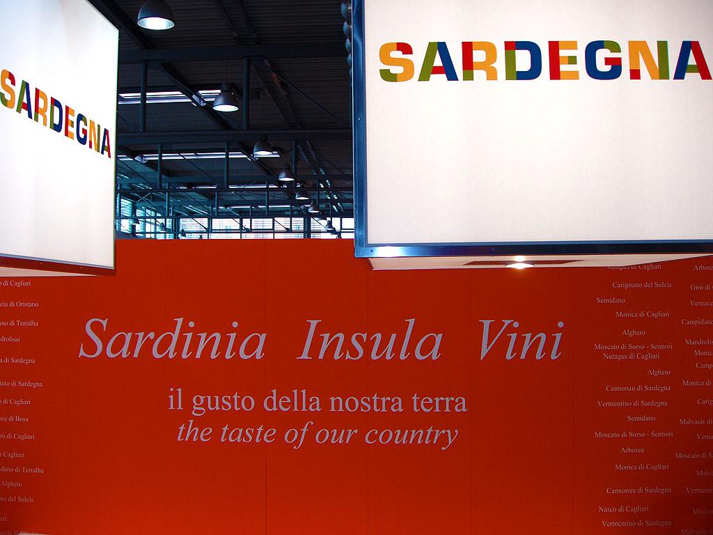 Vinitaly Stand Regione Sardegna 2010