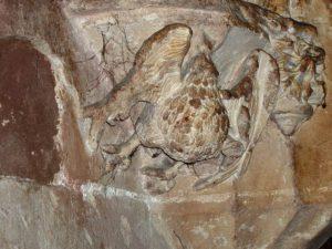 Dettagli della cripta di Cagliari
