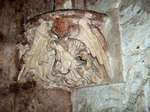 Dettaglio cripta di Cagliari interno