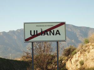 Cartello Uliana - Oliena