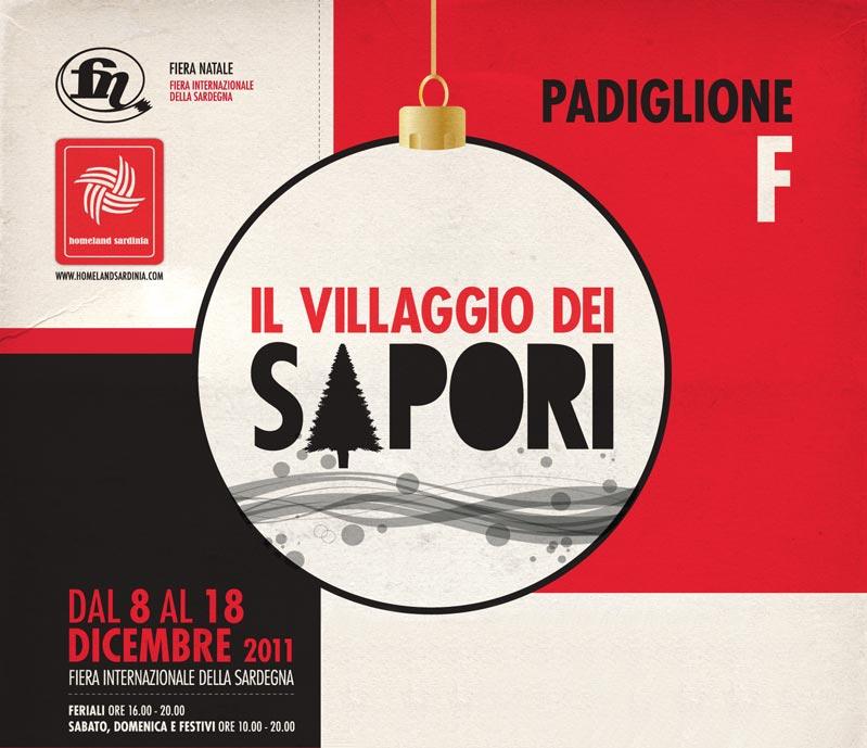 Manifesto Villaggio dei Sapori 2011