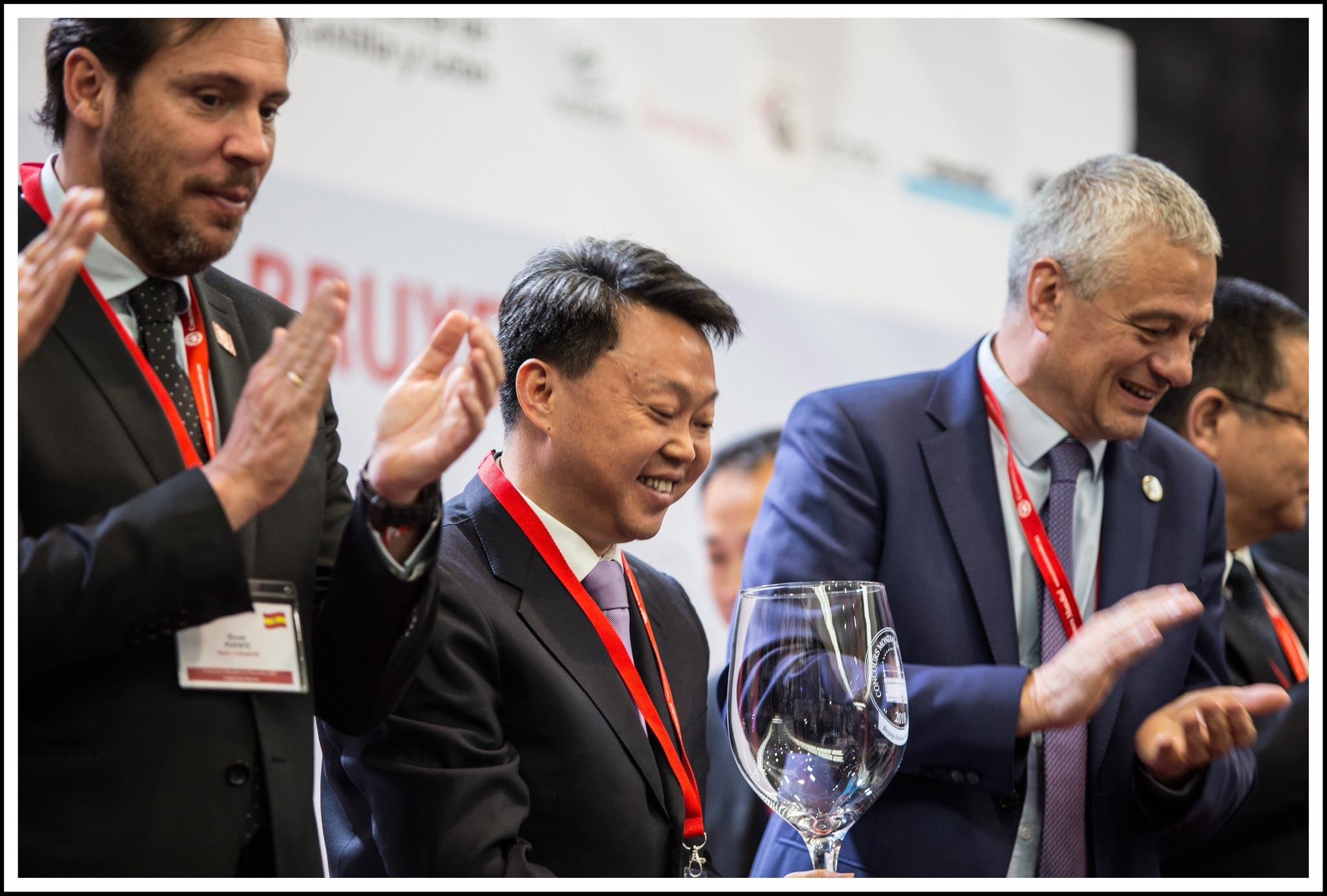 Momento annuncio Concours Bruxelles a Pechino