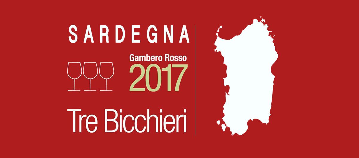 Logo Tre Bicchieri Sardegna 2017