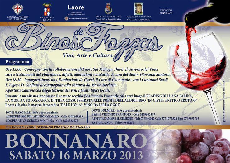 Manifesto Binos de Fozzas 2013