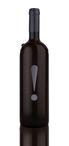 Bottiglia di vino con punto esclamativo