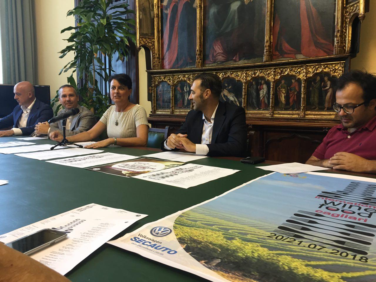 Conferenza Stampa Cagliari International Food Wine Festival 2018