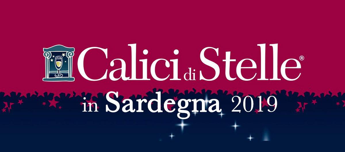 Logo Calici di Stelle in Sardegna 2019