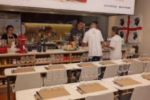 Show Cooking Cantina Carboni e chef Fanutza