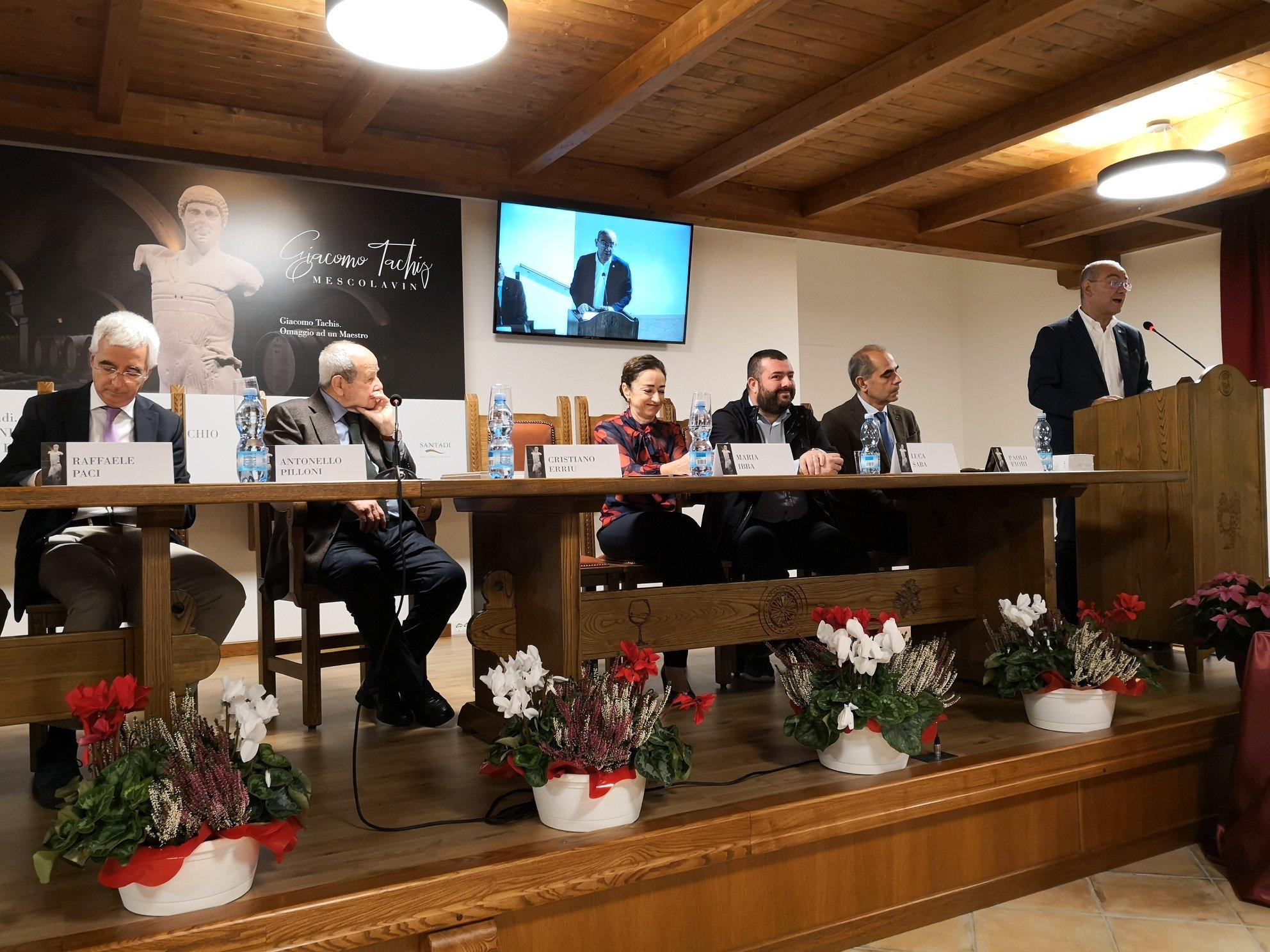 Conferenza Cantina di Santadi