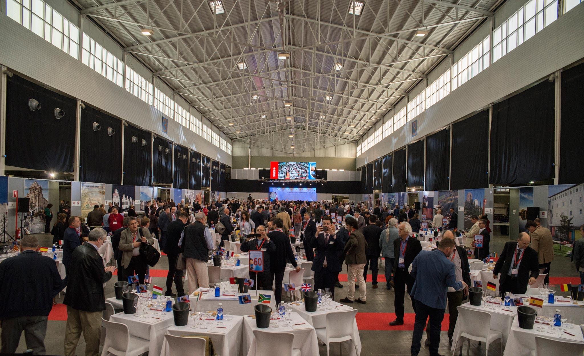 Folla al Concours Mondial de Bruxelles 2017