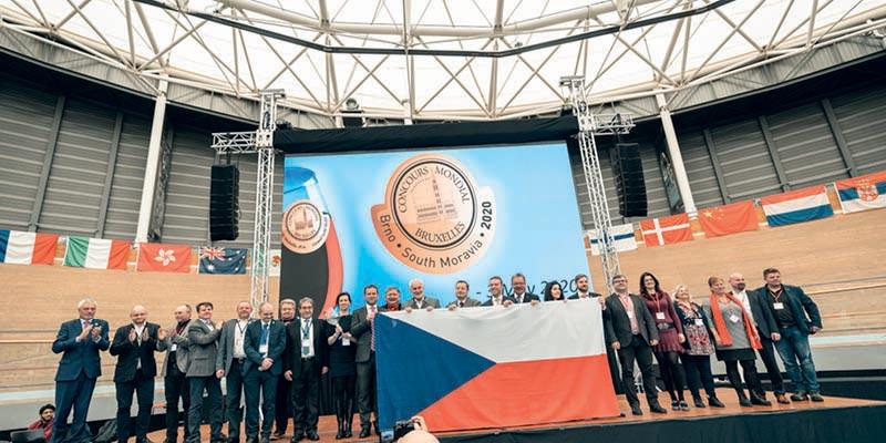 Proclamazione Repubblica Ceca 2020 per il Concorso di vino di Bruxelles