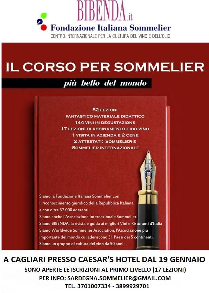 Manifesto Fis corso Sommelier 2014