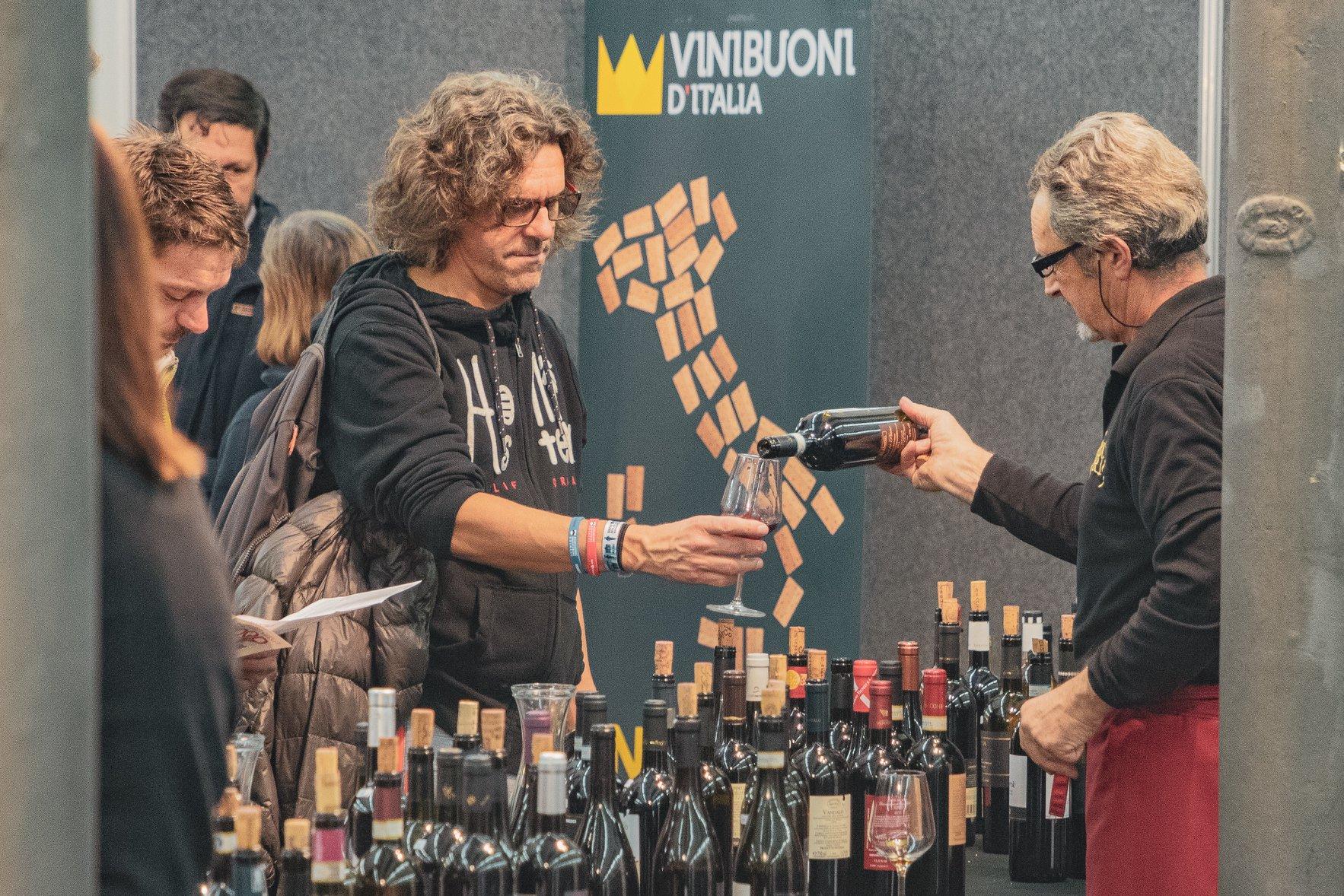 Degustazione a Vini Buoni D'Italia 2019