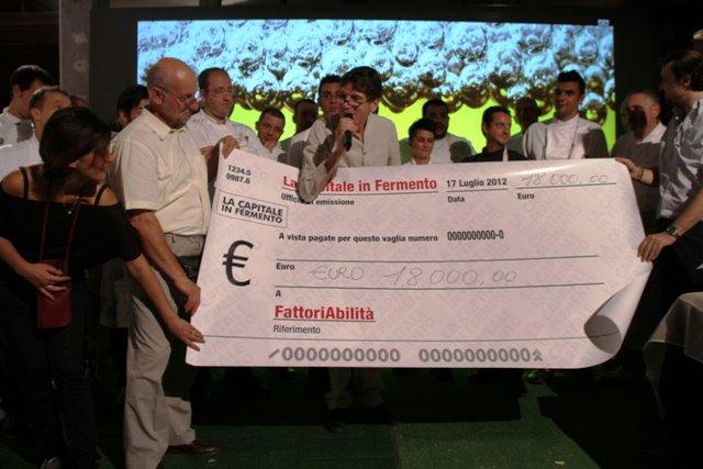 Raccolta fondi Fermento per l'Emilia 2012