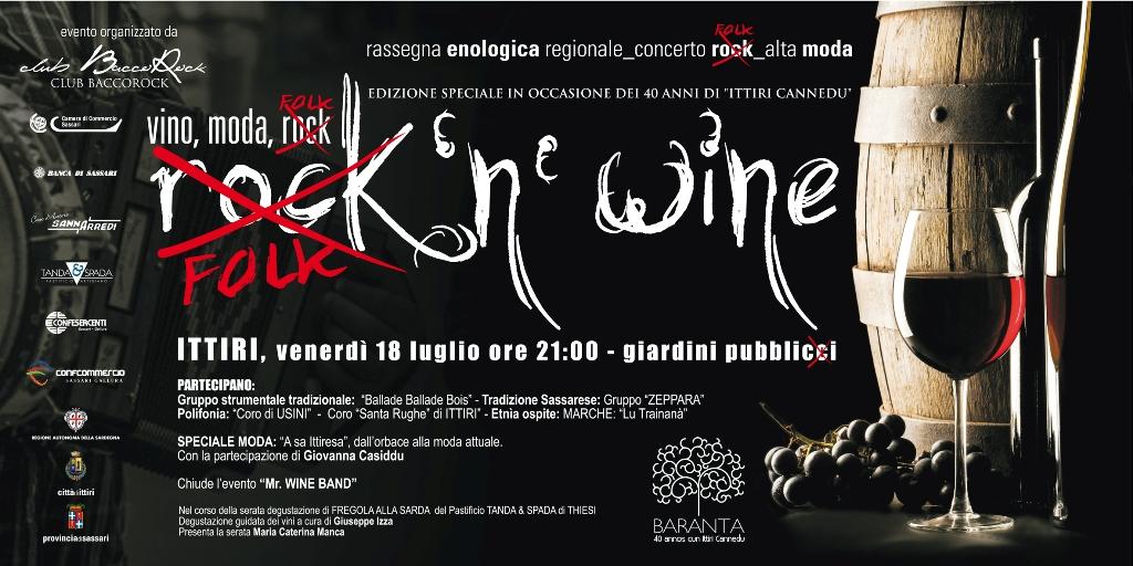 Manifesto Rock&Wine 2014