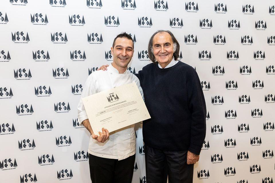 Chef Gavino Piu con Gavino Sanna