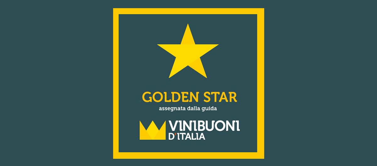 Logo Golden Star Vini Buoni Guida 2018