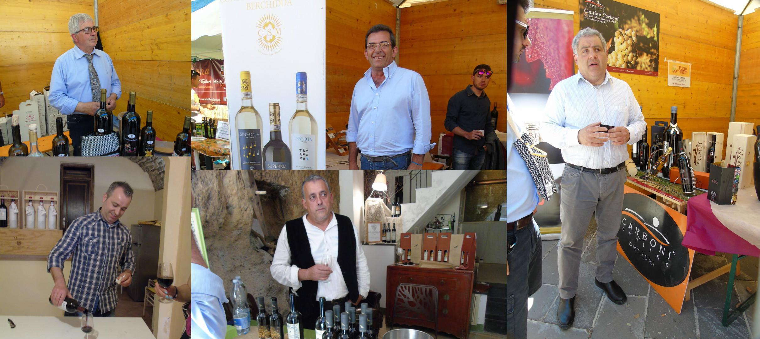 Produttori vino sardi