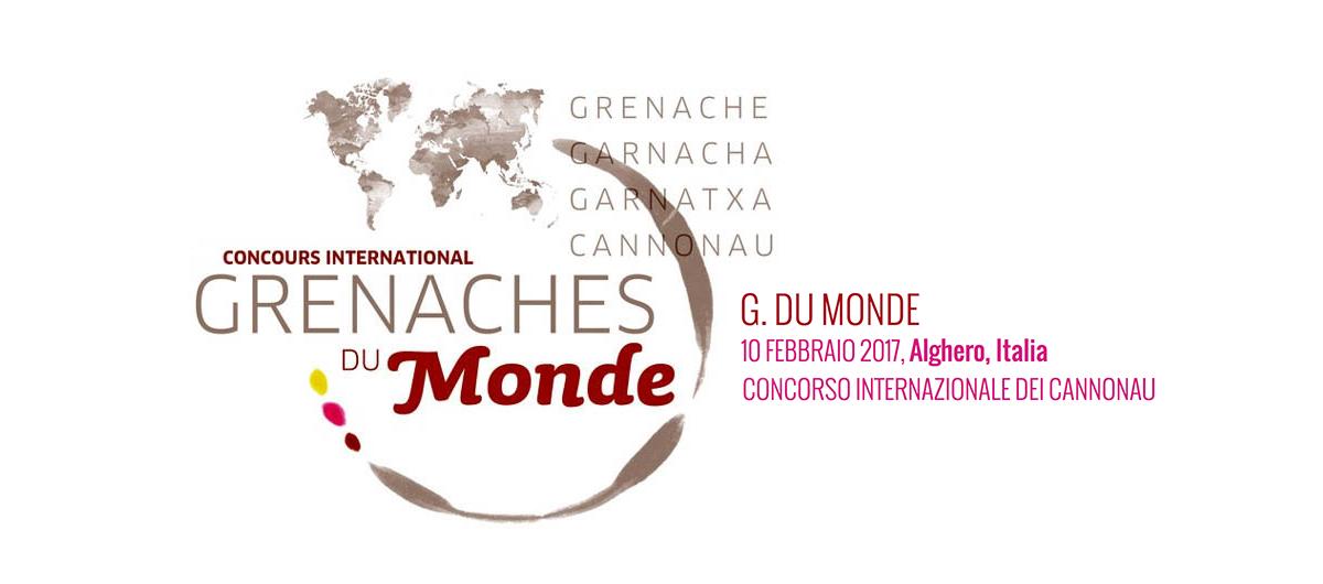 Logo Grenaches du Monde in Sardegna
