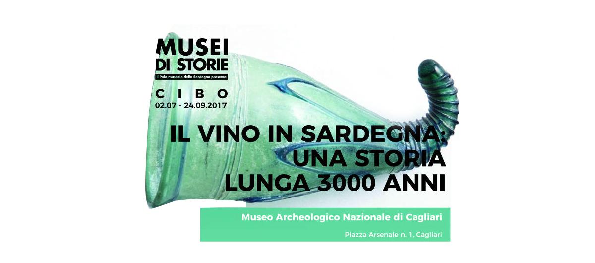 Manifesto Il vino in Sardegna: una storia lunga 3000 anni