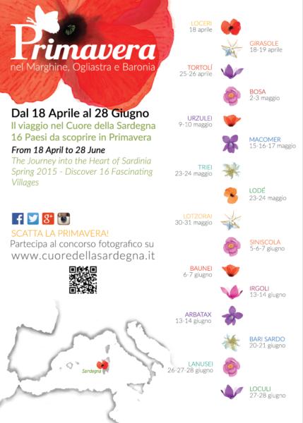 Manifesto primavera nella Malvasia 2015