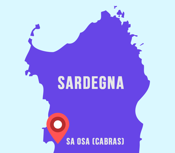Mappa Sa Osa Sardegna