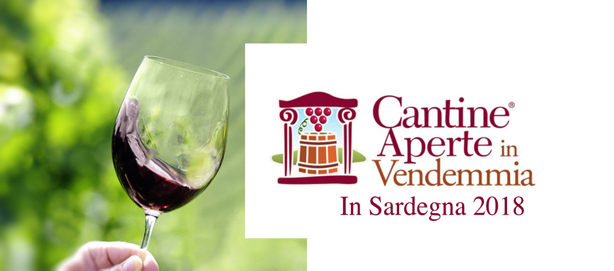 Logo Cantine Aperte in Vendemmia Sardegna 2018
