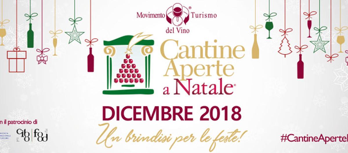 Manifesto cantine aperte a natale 2018