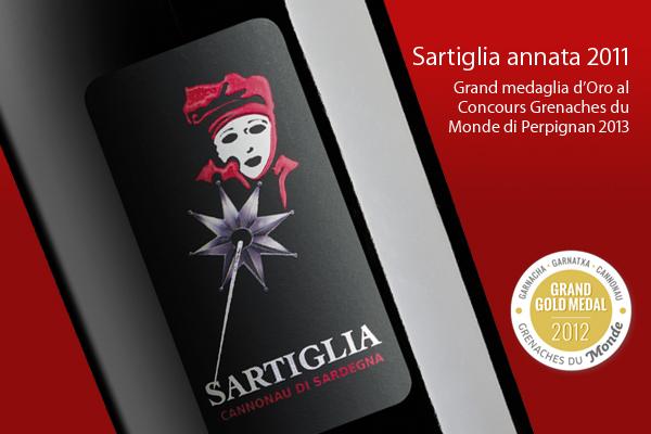 Bottiglia Vino Sartiglia Contini 2011