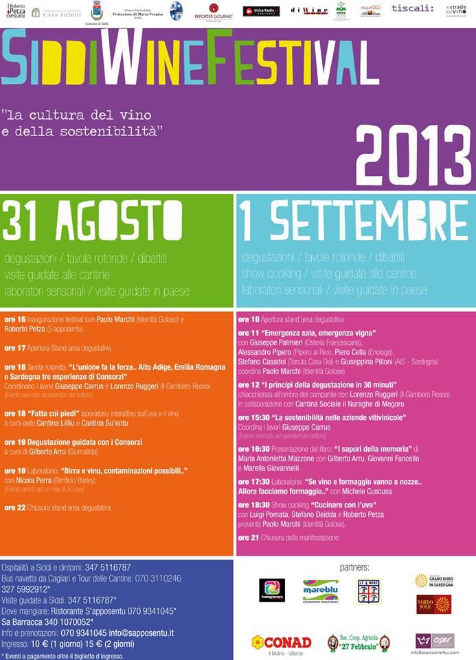 Manifesto Siddi Wine Festival 2013