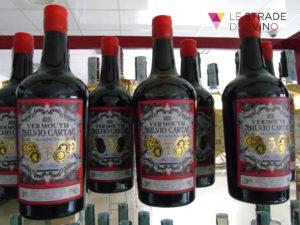 Bottiglie di Vermut Silvio Carta