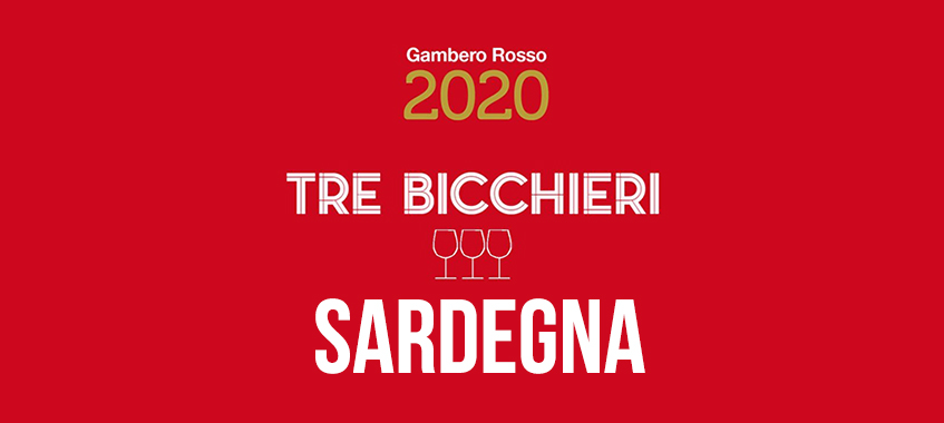 Logo Tre Bicchieri Sardegna 2019