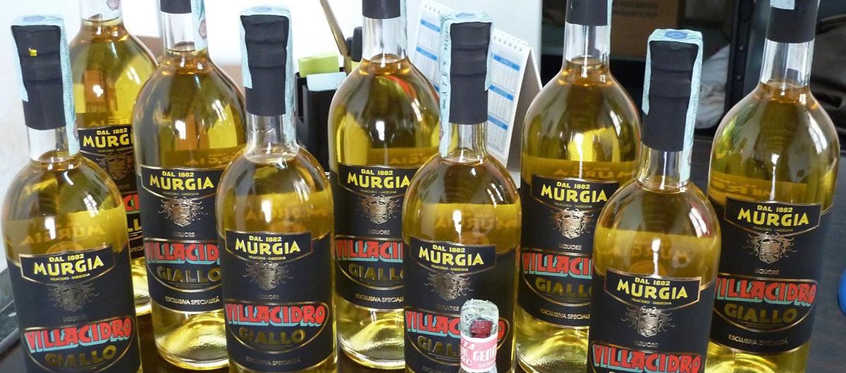 Bottiglie di Villacidro Murgia