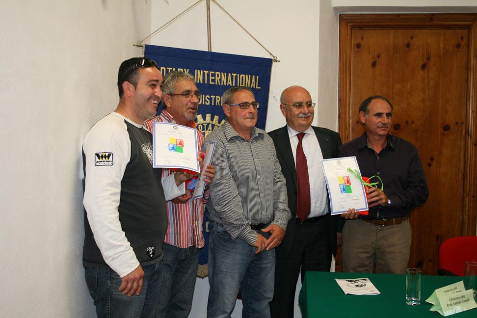 Vinificatori premiati a Viniscola 2012