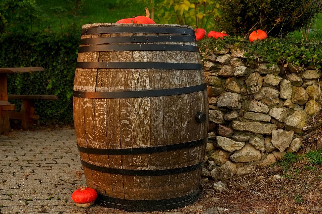 Botte di legno per vino