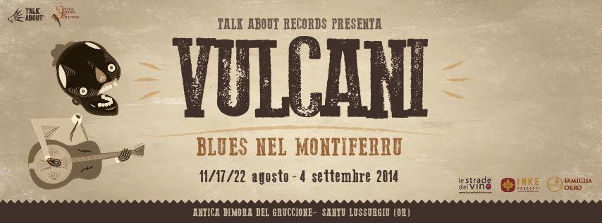 Manifesto Vulcani Blues 2014