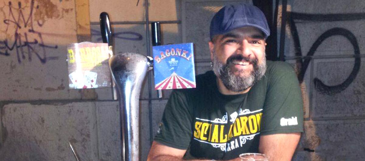 Graziano Melis di Birra Scialandrone