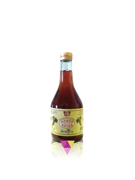 Aceto di vino Rosso 0,5 L - Acetificio Spiga