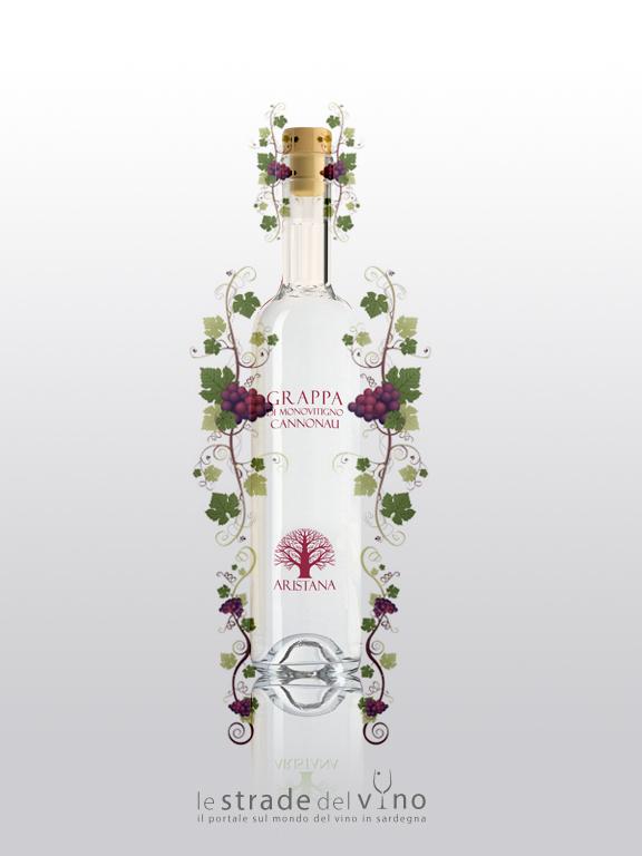 Grappa di Monovitigno Cannonau - Aristana
