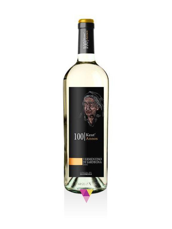 Vermentino di Sardegna Doc- 100 Kent'Annos - Cantina del Mandrolisai