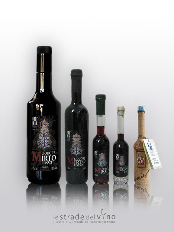 Liquore di Mirto - Ditta Eredi Luigi Poscia