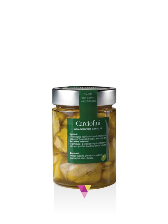 Carciofini Sott'olio - Fratelli Pinna