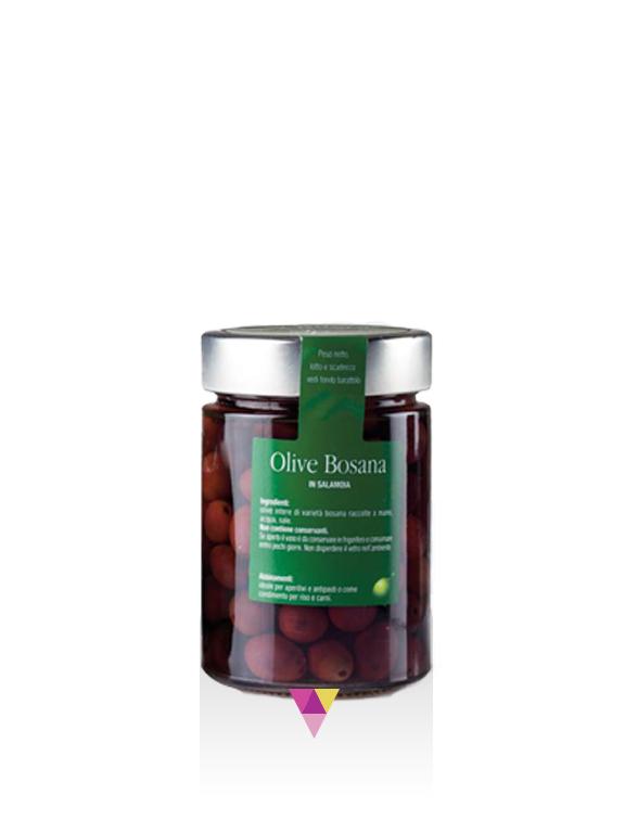 Olive Nere in Salamoia - Fratelli Pinna
