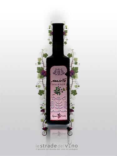 Liquore da Bacche di Mirto Linea Liquori dell'Isola - Ludus - Liquorificio Artigiano Ruggero Leone