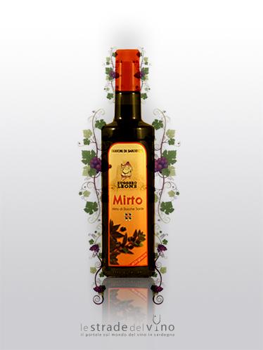 Liquore da Bacche di Mirto Linea Ruggero Ludus - Liquorificio Artigiano Ruggero Leone