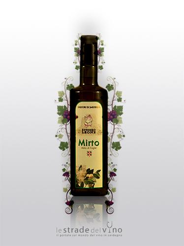 Liquore da Foglie di Mirto Linea Ruggero Ludus - Liquorificio Artigiano Ruggero Leone