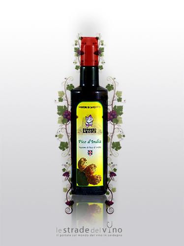 Liquore di Fico D'India Linea Ruggero Ludus - Liquorificio Artigiano Ruggero Leone