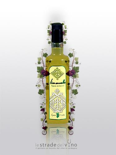 Liquore di Limonello - Linea Liquori dell'Isola - Ludus - Liquorificio Artigiano Ruggero Leone
