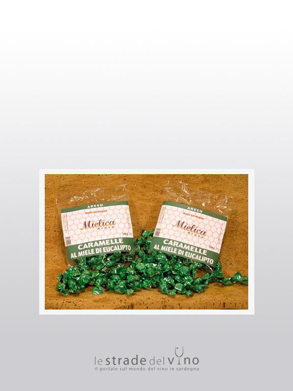 Caramelle al miele di eucalipto - Mielica Aresu