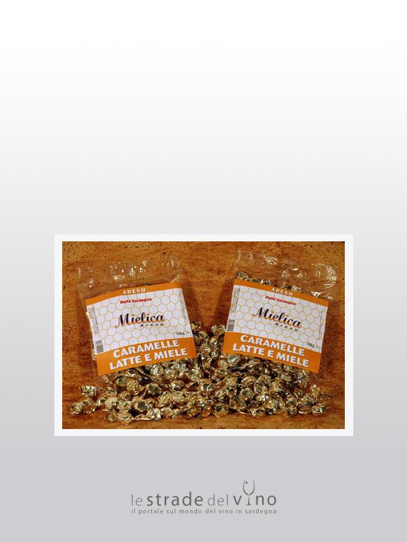 Caramelle Latte e Miele - Mielica Aresu